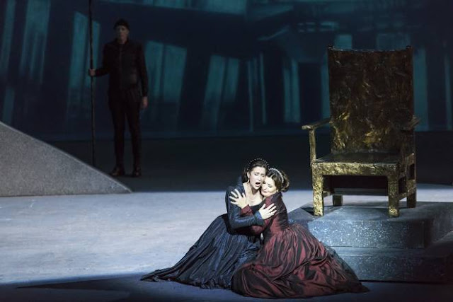 Donizetti: Anna Bolena - Michele Losier, Marina Rebeka - Bordeaux (Photo Maitetxu Etcheverria)
