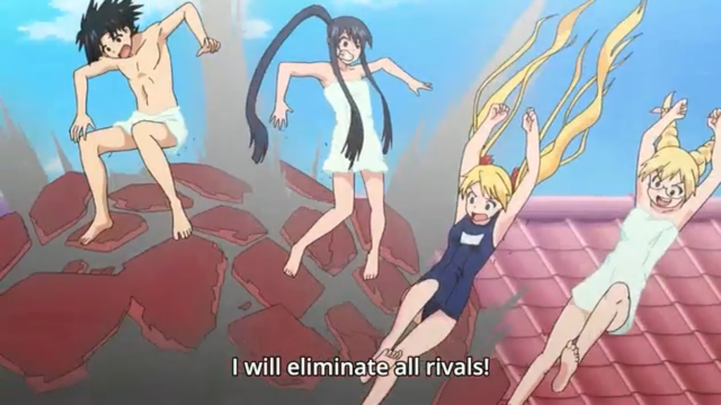 Anime Feet: UQ Holder!: Mizore Yukihiro
