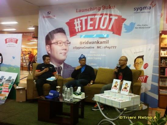 Launching buku Tetot