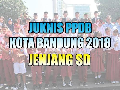 Petunjuk Teknis PPDB Kota Bandung 2018 Jenjang SD