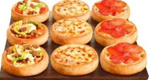 Novas Pizzas individuais Pizza Hut