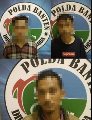 3 Pelaku Penyalahgunaan Narkoba Diamankan Dit Narkoba Polda Banten