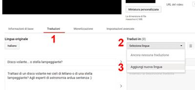 Come tradurre un video youtube