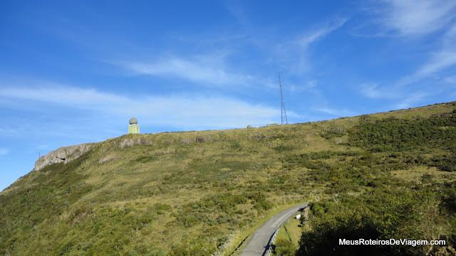 Estrada para o Morro da Igreja - Urubici / SC