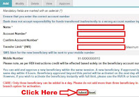 how to add sbi account in sbi net banking