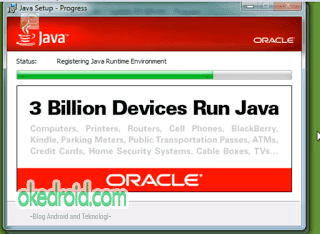 Proses instalasi JDK (Java Development Kit)