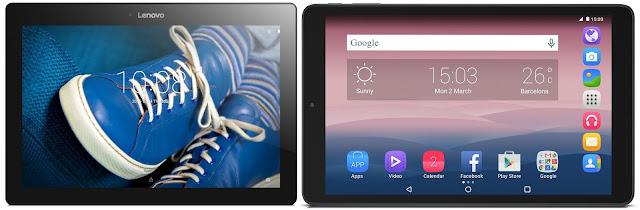Mejores tablets Android 10 precio 100 euros