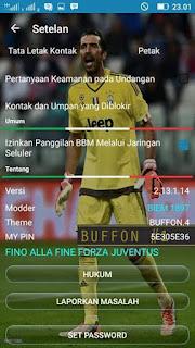 BBM BUFFON 14.5 Apk v2.13.1.14