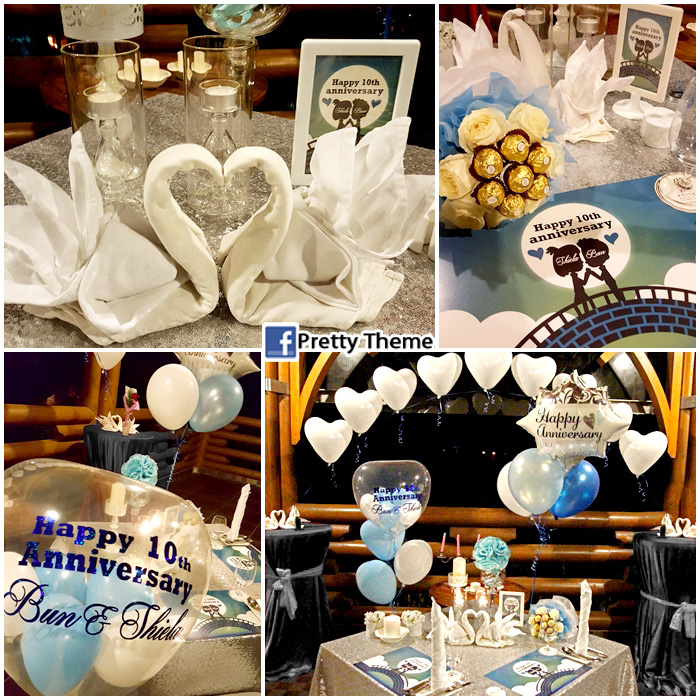 Pretty theme event planner surprise room deco surprise birthday bash from girlfriends on her birthday at grace hotel muar junglespirit Choice Image