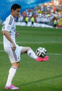 James Rodríguez está sufriendo complicados momentos en el Madrid tras meses sin rendir como se espera de él