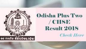 Odisha +2 2018 Result, Odisha CHSE Results 2018, Odisha 12th Class Result 2018