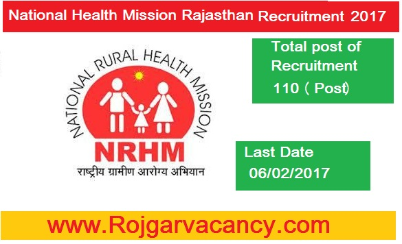 110-specialists-national-health-mission-National-Health-Mission-Rajasthan-Recruitment-2017