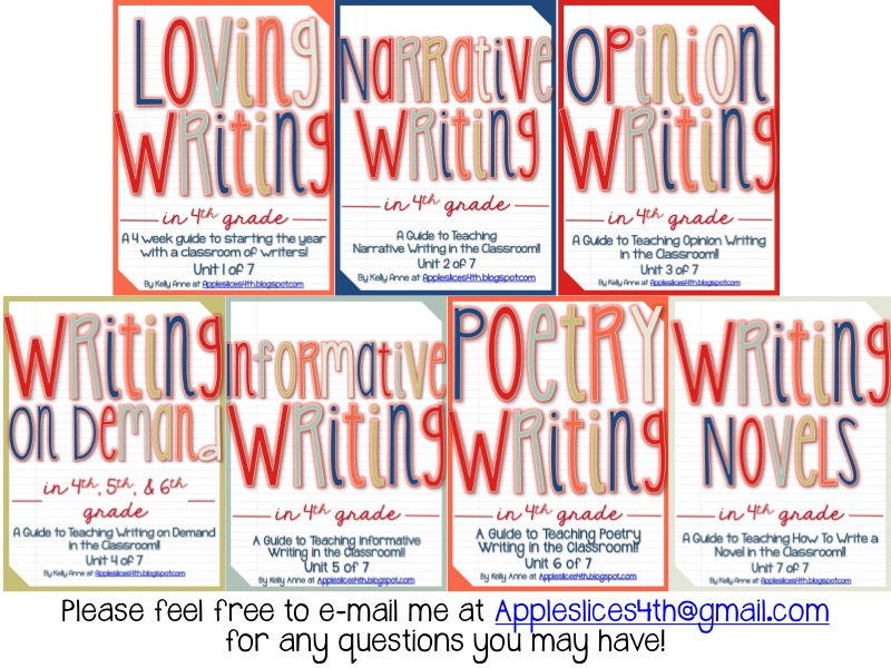 AppleSlices: 4th Grade Writing Curriculum [Make writing FUN!]