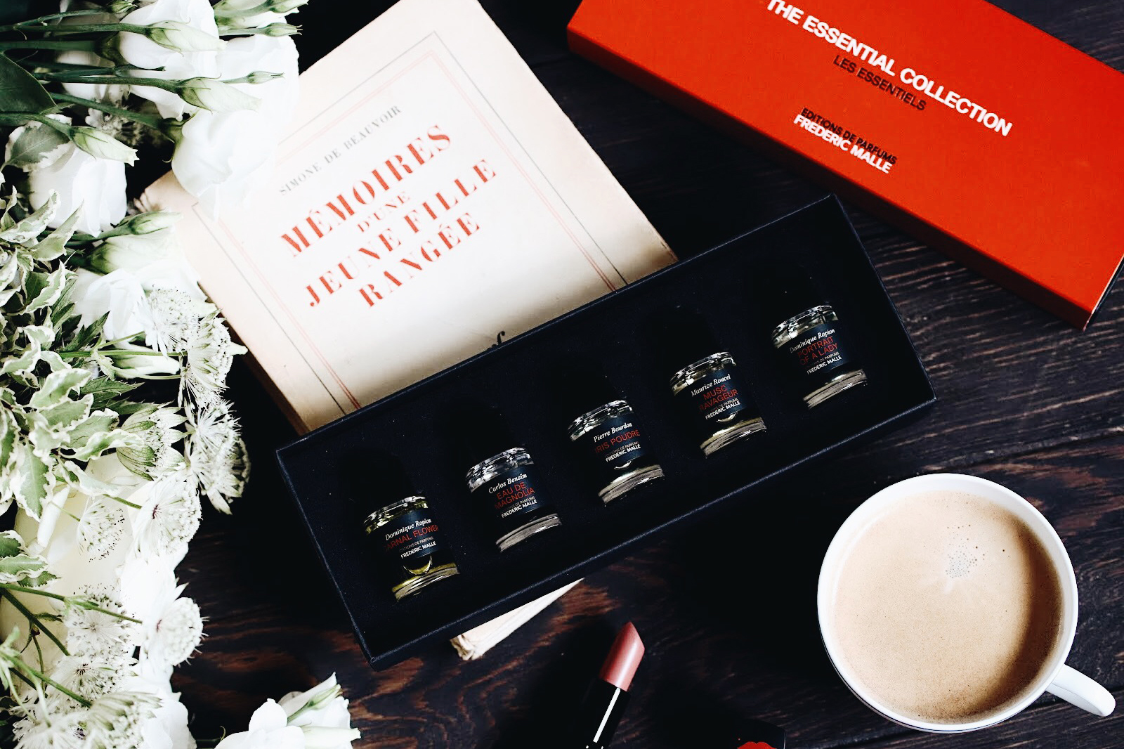 frederic malle the essential coffret parfums les essentielles