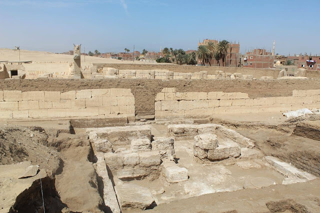 Temple palace discovered at Ramses II's temple in Upper Egypt's Sohag