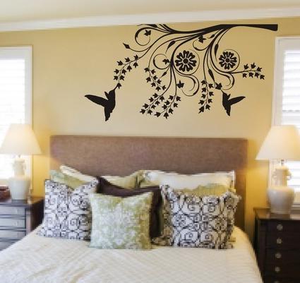 cmo decorar las paredes de mi cuarto habitacin dormitorio decorar las paredes con vinilos decorativos