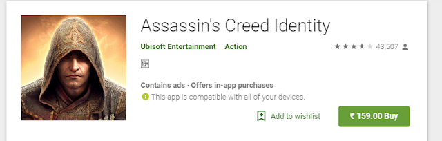 Assassin's Creed Identity For Android