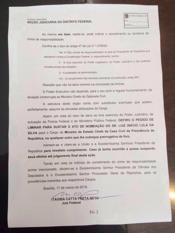 Dilma, Lula e o PT levam dois tapas na cara em menos de 24h