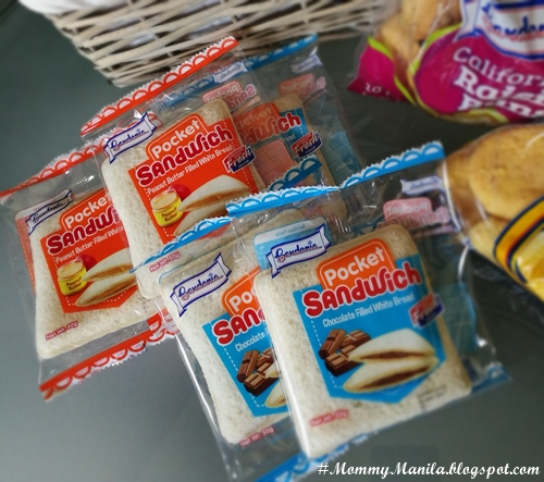 Gardenia Pocket Sandwiches