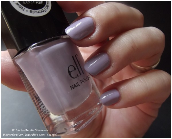 Lilac (#30419), ELF, vernis, nail polish, vernis 3 FREE