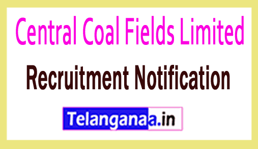 CCL Central Coal Fields Limited Recruitment