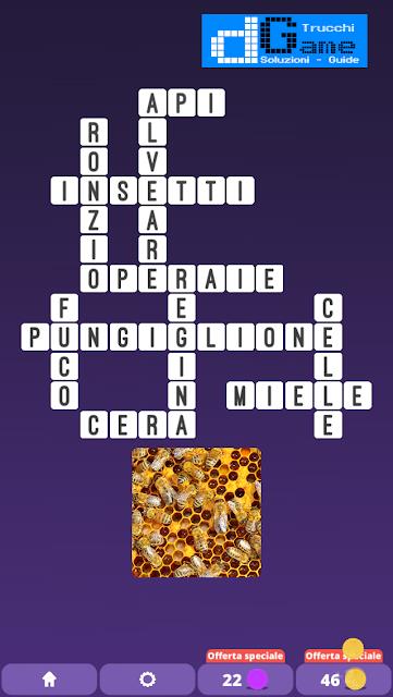 Soluzioni One Clue Crossword livello 2 schema 1 (Cruciverba illustrato)  | Parole e foto