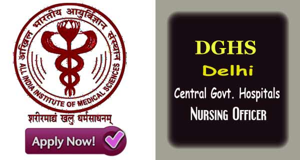 Latest Staff Nurse Vacancy in Central Government Hospitals 2019