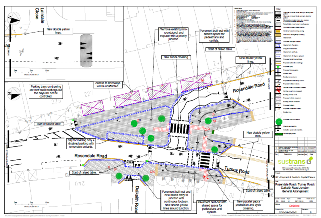 Consultation proposal for Rosendale Road