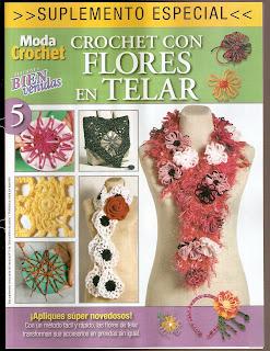 Crochet con Flores en Telar