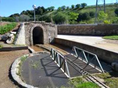 Tunel en el parque de Can Mercader