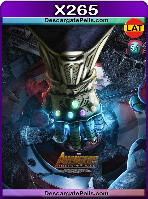 Avengers Infinity War 2018 1080P x265 Latino – Ingles