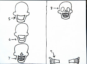 smART Class: Skellies for Dia De Los Muertos