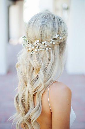 Weeding Braid wave Hairstyle