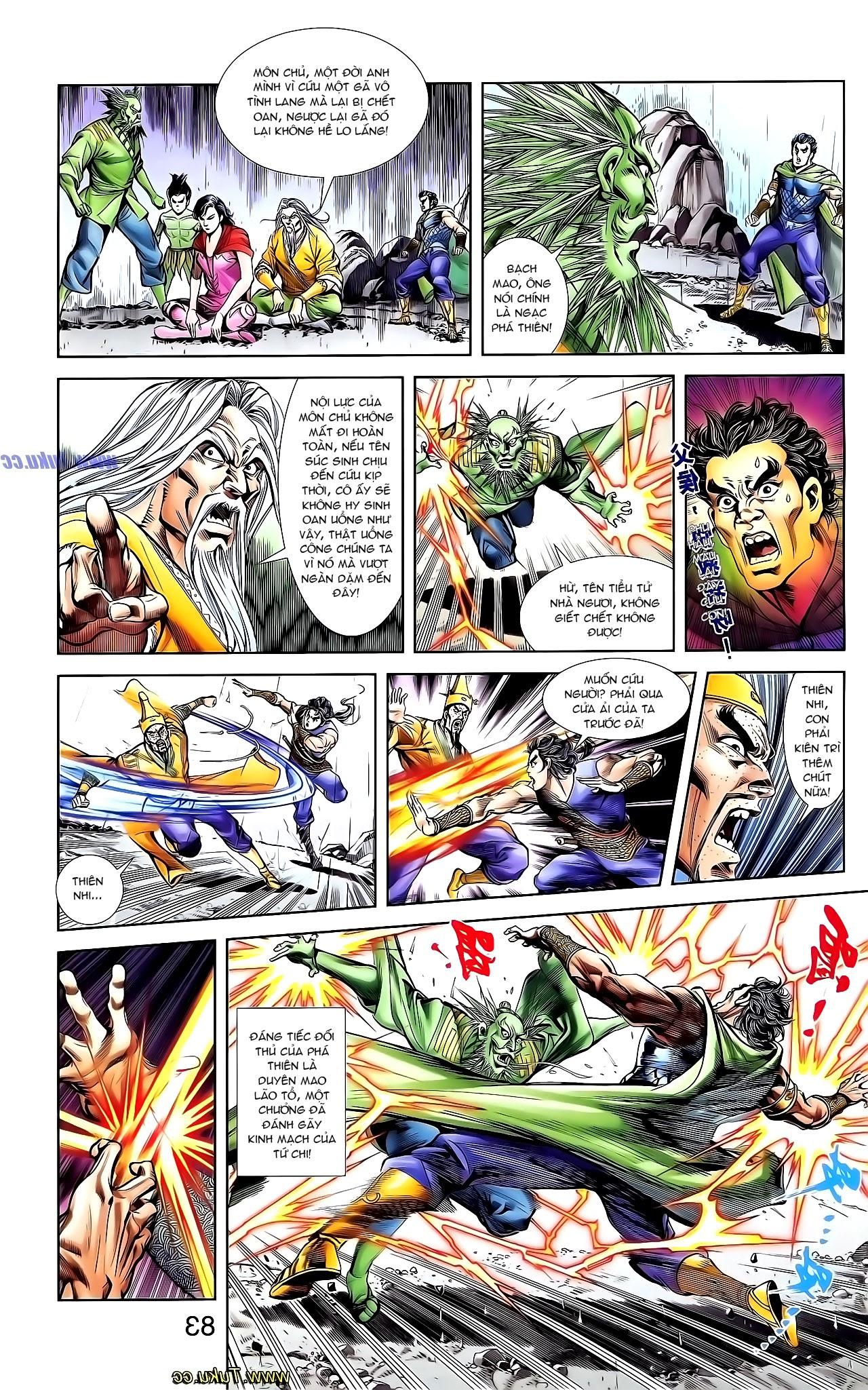 Cơ Phát Khai Chu Bản chapter 131 trang 23