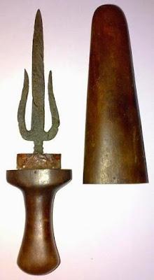 Provinsi Sumatera Selatan - Senjata Tradisional :Tombak Trisula