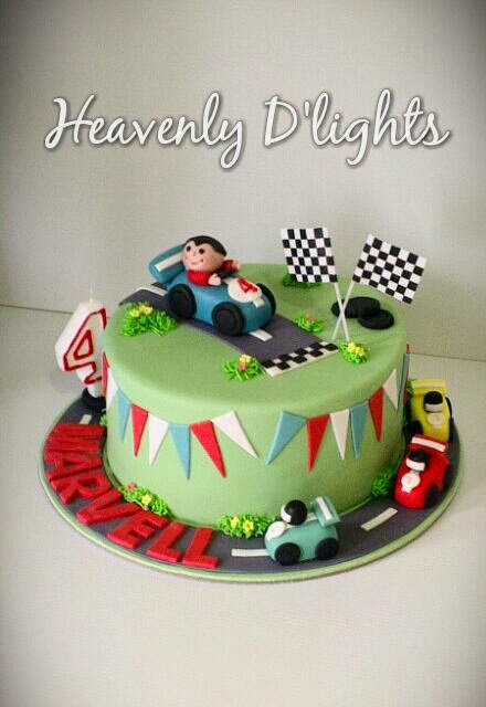 How Much Is The Birthday Racing Car Cake