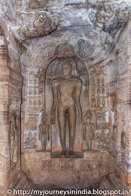 Badami Cave Parshvanath Tirthankara