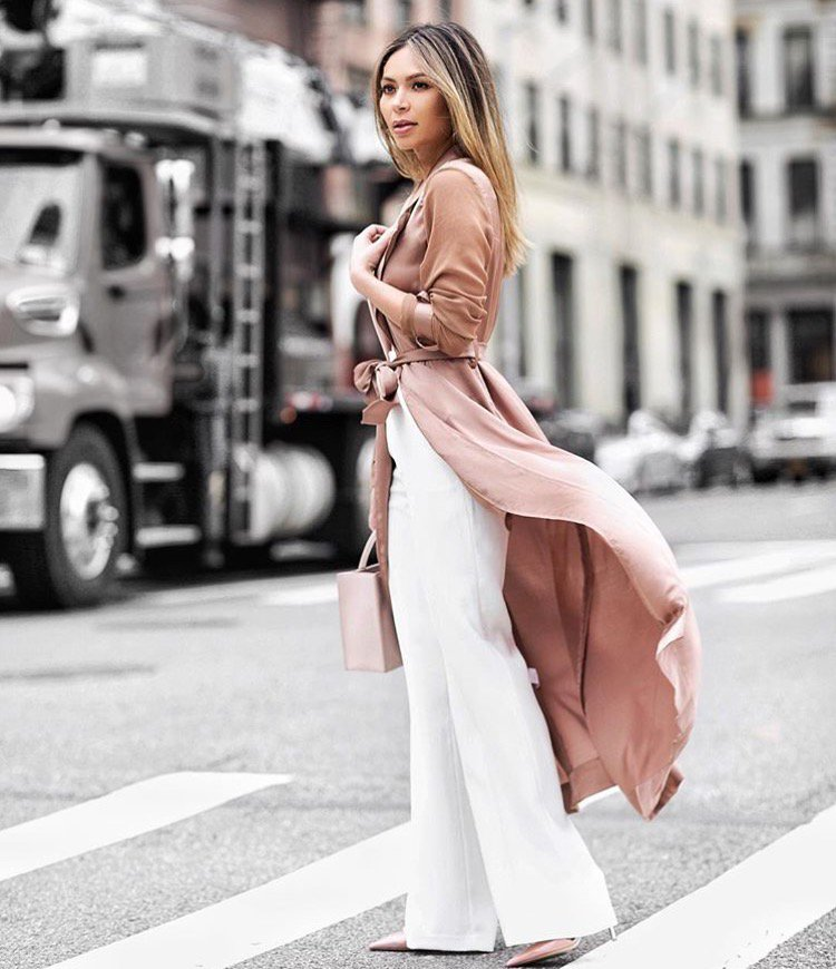Marianna Hewitt Instagram Street Style - House of CB Coryn Coat