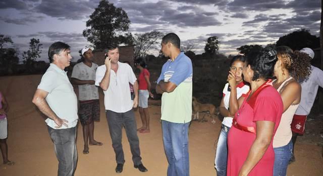Formosa: Secretário Renato Bonfantti faz reunião com moradores do Peba