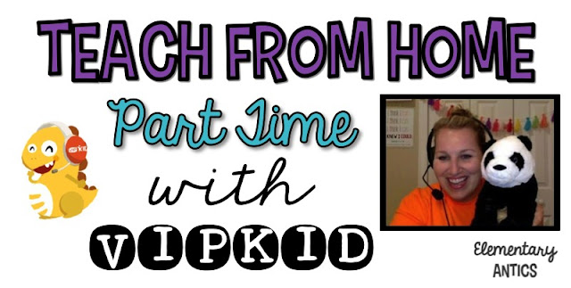 Find out why I LOVE teaching from home with VIPKID!  Learn a little about the company, what you do and the pros and cons of working part time from home.