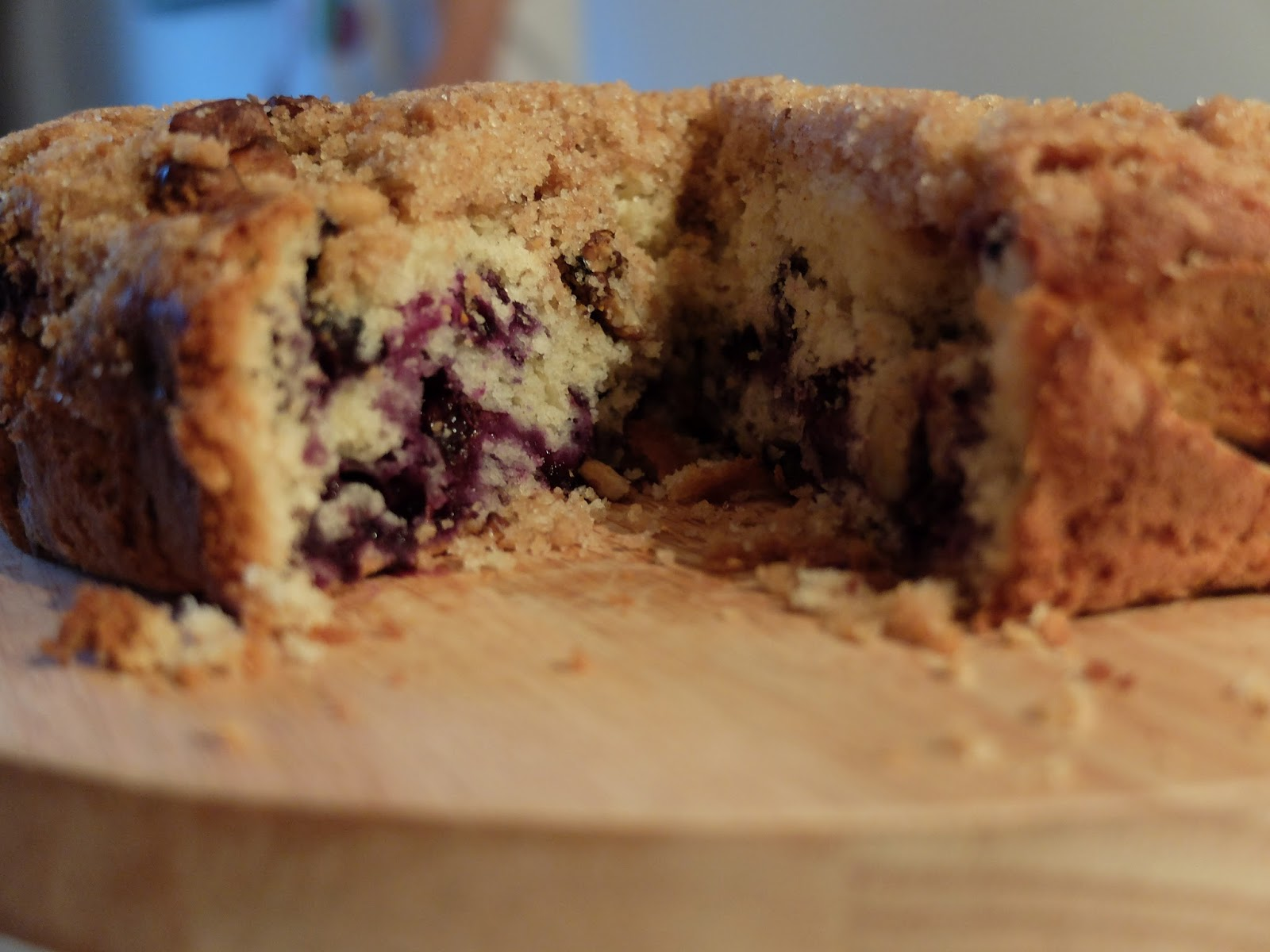 Honey Ricotta Smitten Kitchen Blueberry Crumb Cake