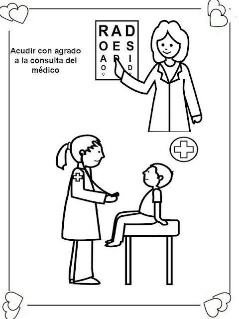 Laminas Para Colorear Coloring Pages Deberes Y Derechos Del Niño