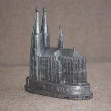 Metal Cathedral Figurine