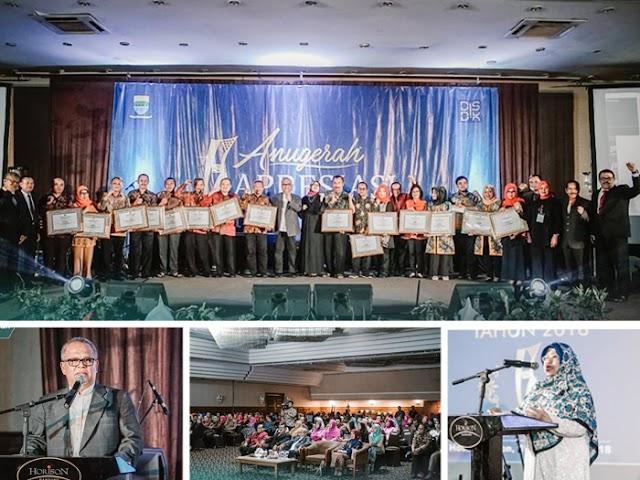 Inilah Penerima Anugerah Apresiasi Pendidikan Kota Bandung 2018