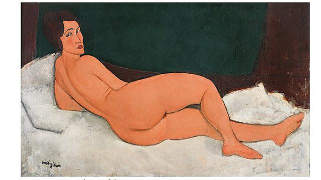 モディリアーニの裸婦画