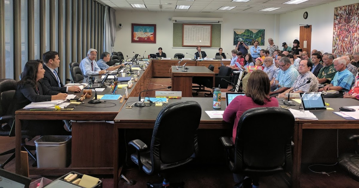 Hawaii House Blog House Finance Committee Approves 1 2