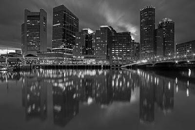 Boston black and white photography,