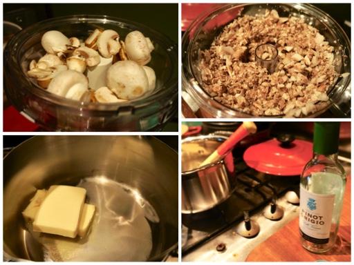 Fanny Cradock Mushroom Aspic Souffle