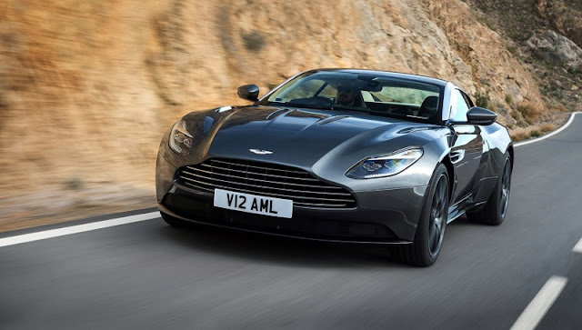 Aston Martin DB11 Test
