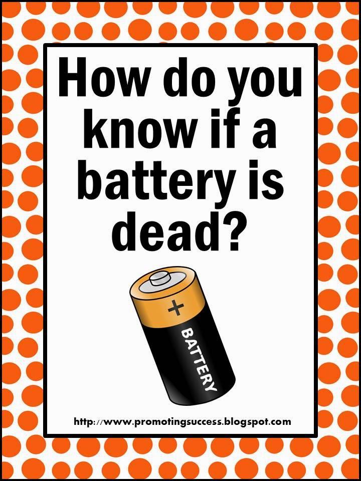 Battery is dead Teachers Pay Teachers Promoting-Success